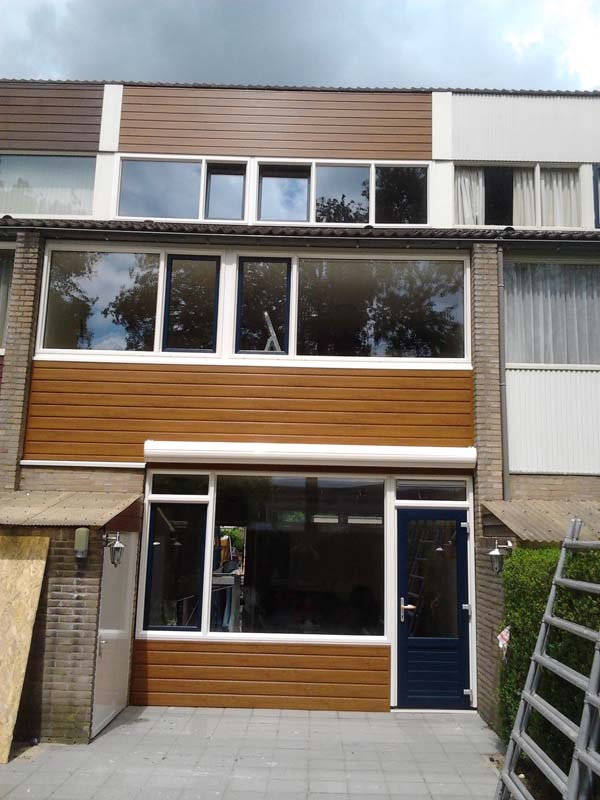 Diverse Gevelbekleding Perfect Windows